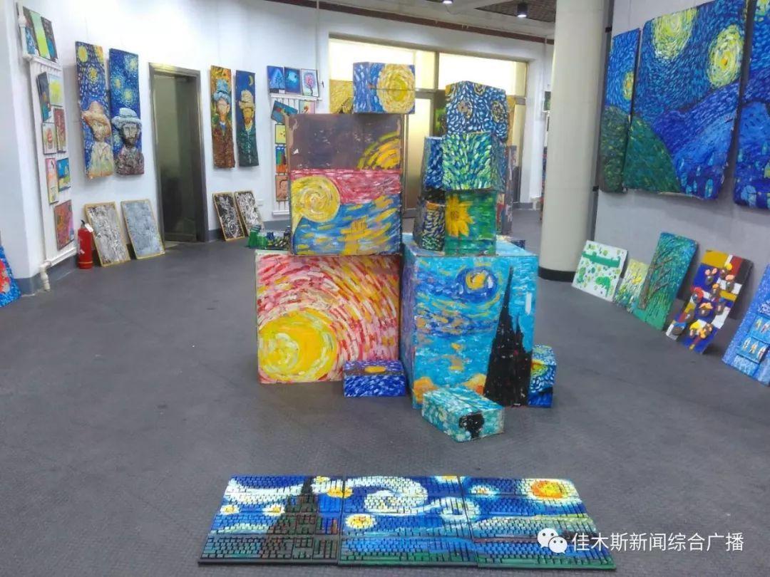 【新闻】小梵高美术课全国大画展--《至爱梵高》,来到图片