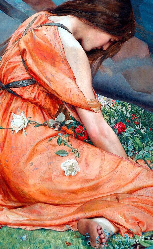欧洲古典油画里那些肥美的女人
