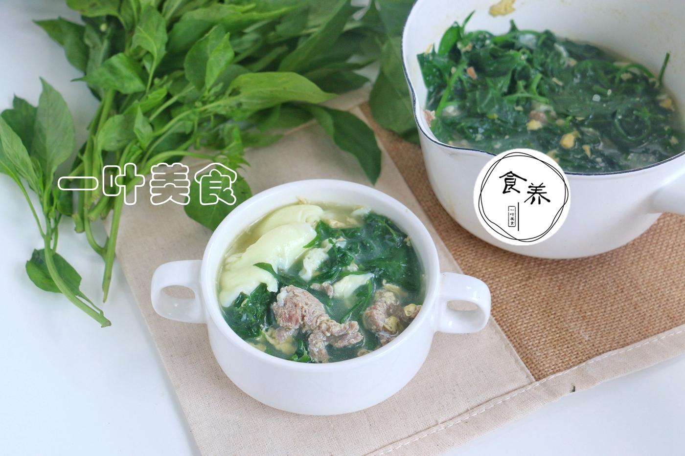 这菜含钙比牛奶还高,韩国最流行的补钙法,3分钟煮成一碗夏季汤