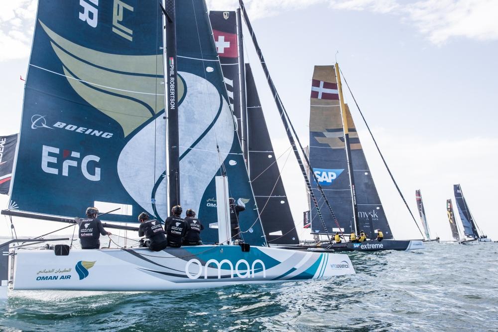 c罗大四喜 2018极限帆船赛程过半 阿曼航空队排名积分榜第三