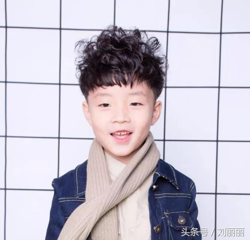 宝宝帅气发型男孩图片 图片合集图片
