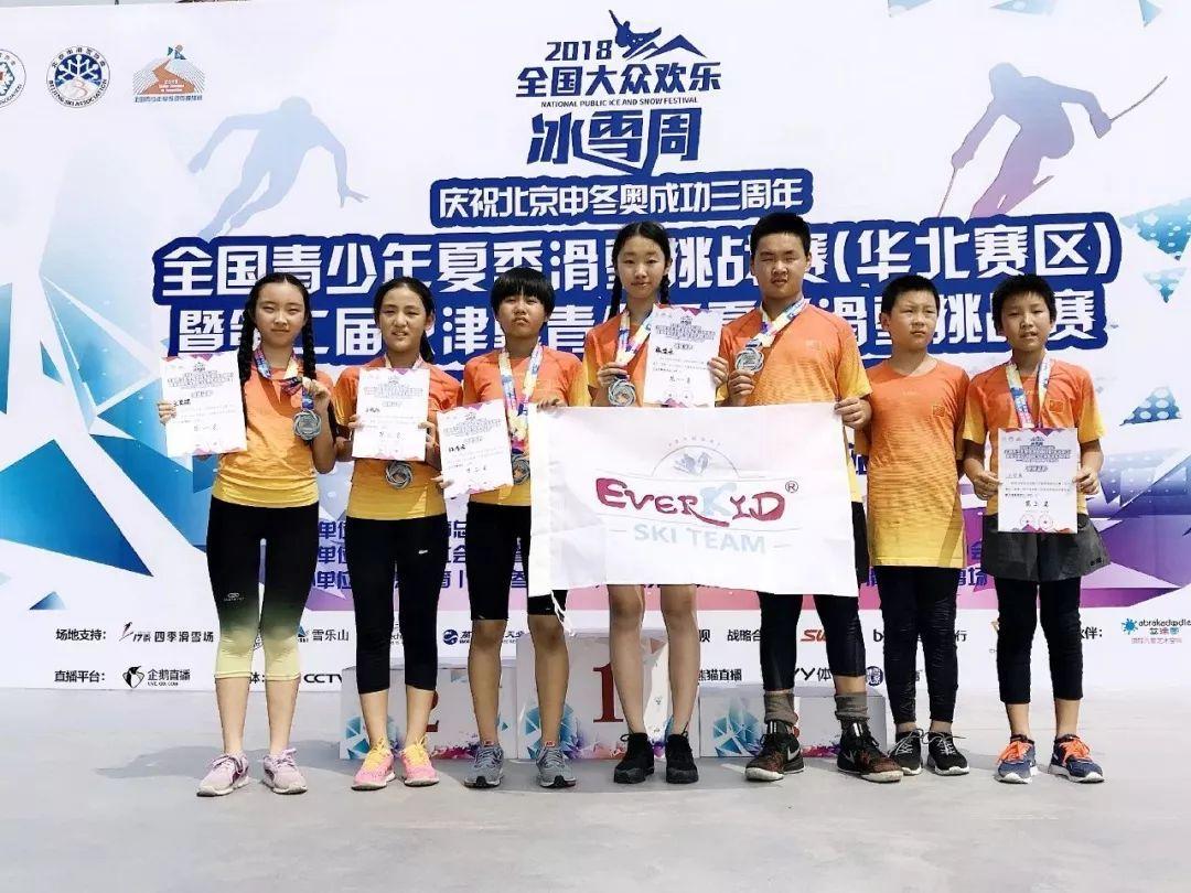 全国青少年夏季滑雪挑战赛暨第二届京津冀青少年夏季滑雪挑战赛:Everkid爱玩客滑雪队员喜获佳绩