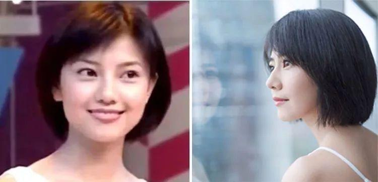 """39岁的高圆圆再剪短发,网友:还是那一张斩男""""初恋脸"""""""