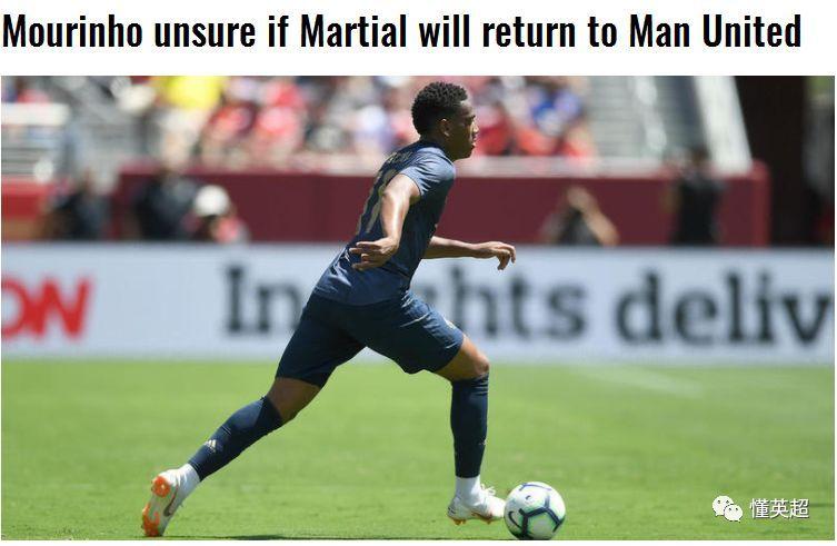 曼联世界杯4将提前归来,但马夏尔归期未定