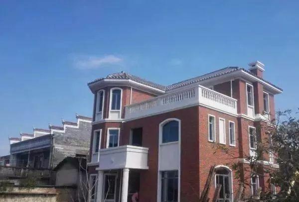虽然在外成家落户,仍不忘老家建房,房子设计一波三折终完成!图片