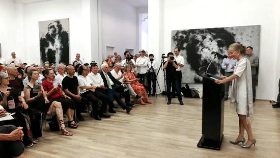 现场 | 凝固:张方白个展在路德维希博物馆开幕