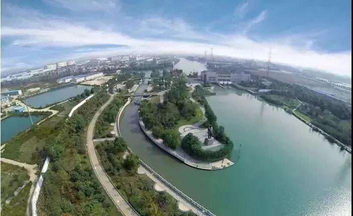 结合现代水利工程打造的特色风景区