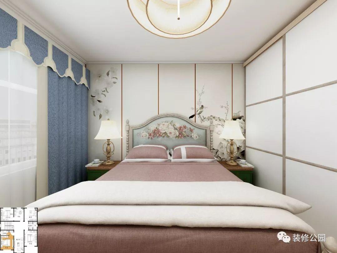 10×11米带室内装修,小二层英式咖色别墅图片