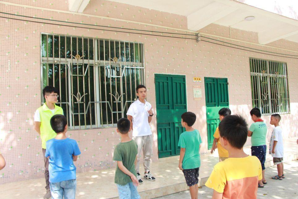 【三下乡-向阳社会实践队】特色课程 传承中华文化,发扬武术精神