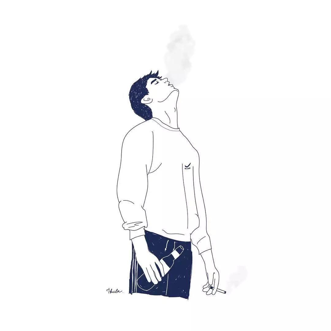 ins美图丨一组时尚又有趣的插画图片