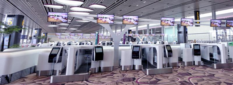 太秀了!樟宜机场第四搭客大厦开幕
