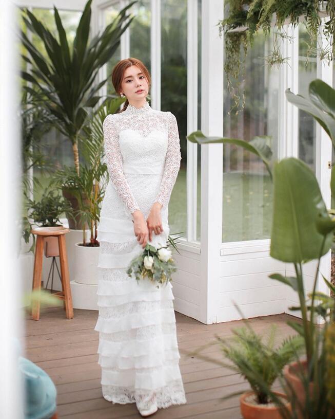韩国Married Mari描绘爱情的迷人样貌 自由搭配出你的轻婚纱