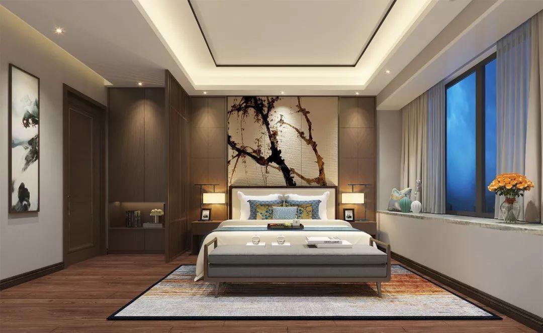 搭配簡約的中式家具圖片
