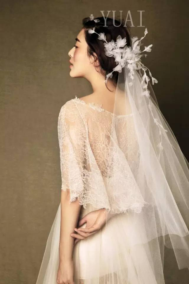 新娘发型 头纱的搭配技巧,真心话好美!图片