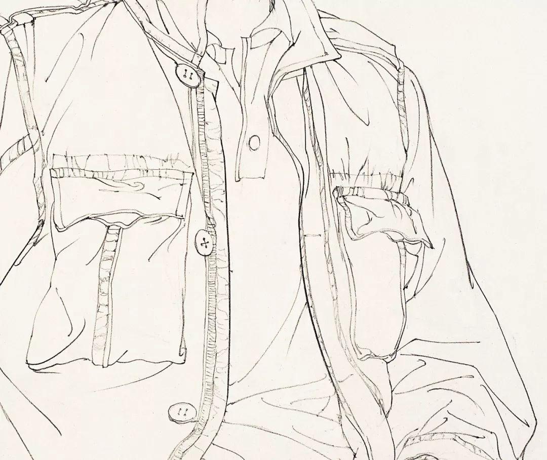 南山读画 | 《徐默线描人物写生》:人物画造型的第一课
