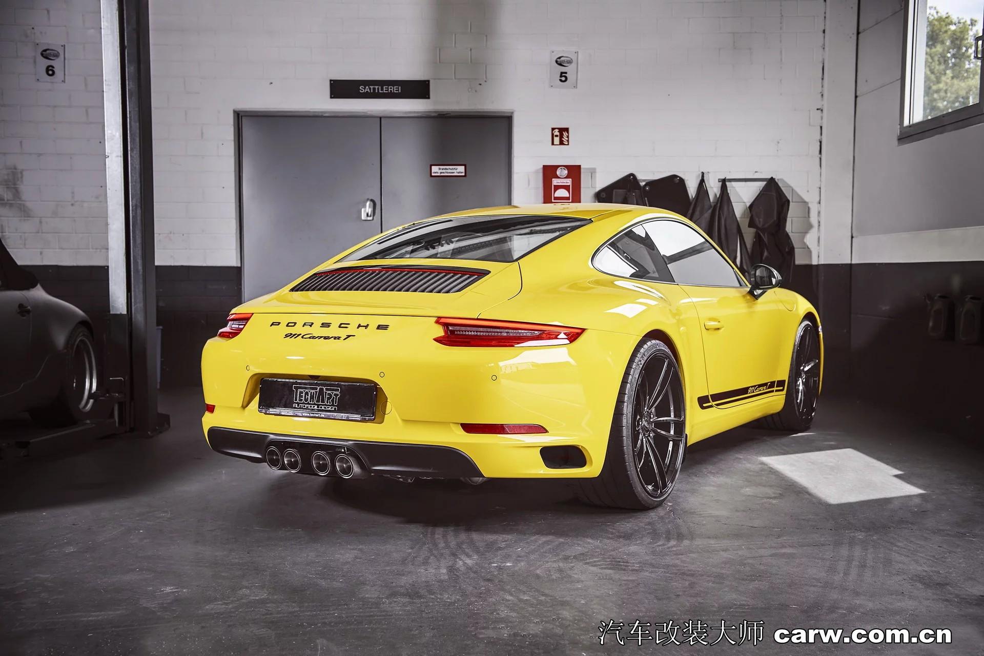 改装保时捷911 Carrera 加装动力升级套件 更快更有
