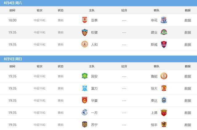中超第16轮将开打:全国球迷可观看广州德比,央
