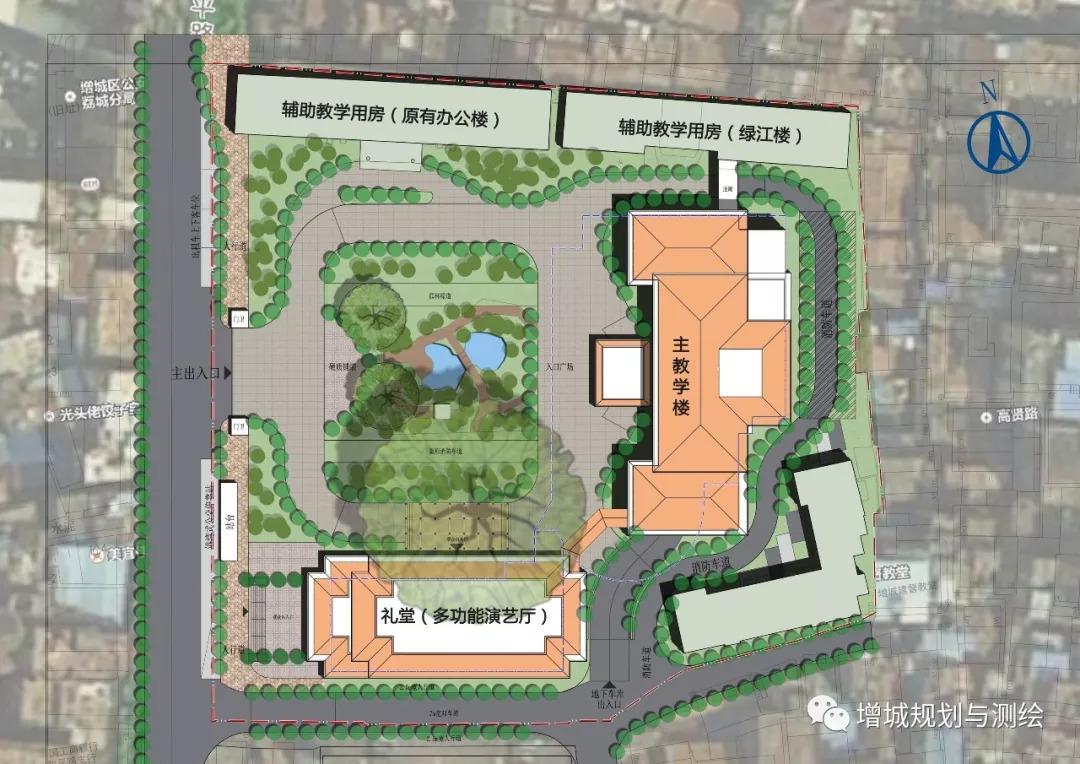 大学校园建筑设计图纸 平面图-教育建筑图纸-沐风网