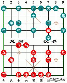 """经典的""""七路马和棋谱"""",有机会顶和象棋高手、象棋软件的1个象"""