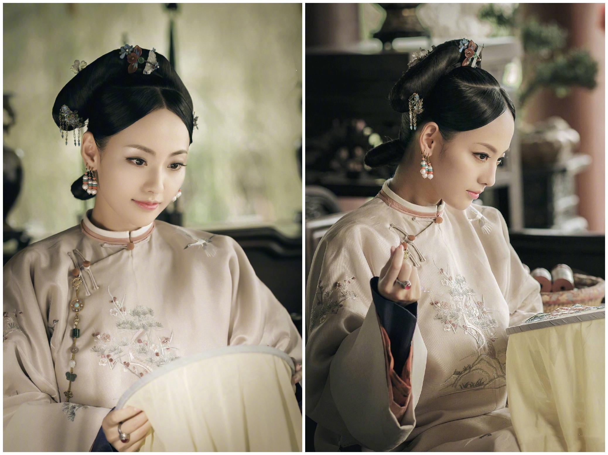 张嘉倪李沁同演香妃,古装扮相令人心醉,只能靠现代装一较高下了
