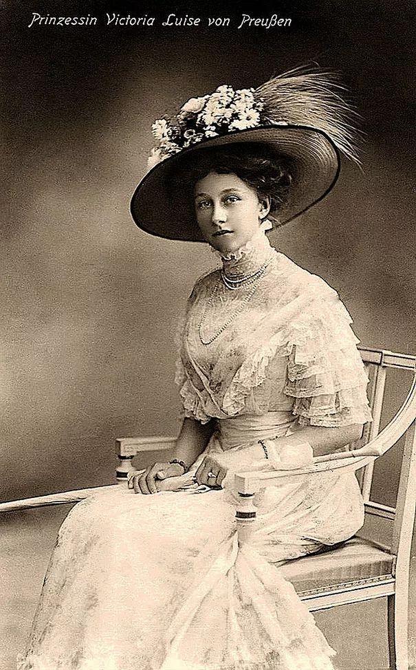维多利亚公主——路易斯冯普雷森