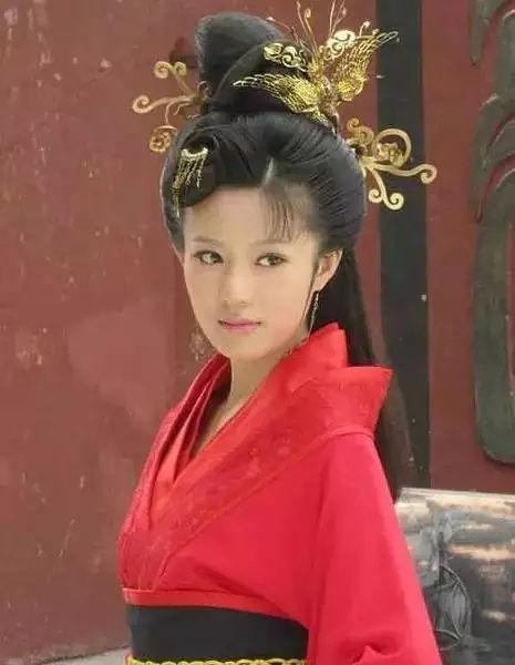 邬靖靖,古装美女,最美西施