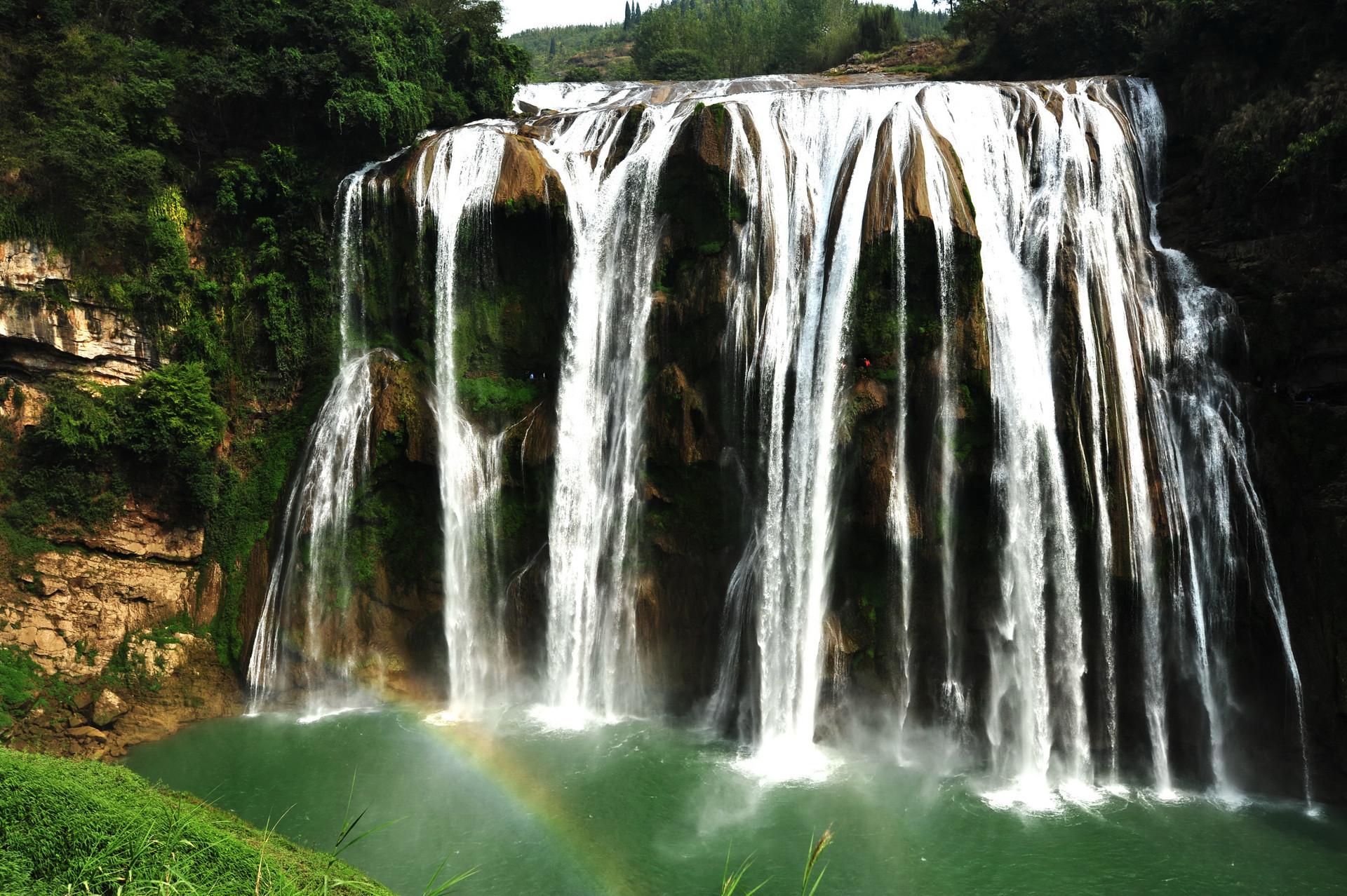 贵州这条瀑布因一种树而得名,被徐霞客记载广为传播