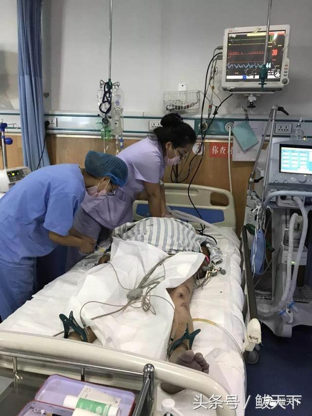 今天上午,被送进icu的两位患者