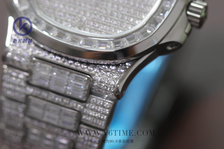 【老K名品第244期】腕表的真钻和假钻锆石,教你如何分辨