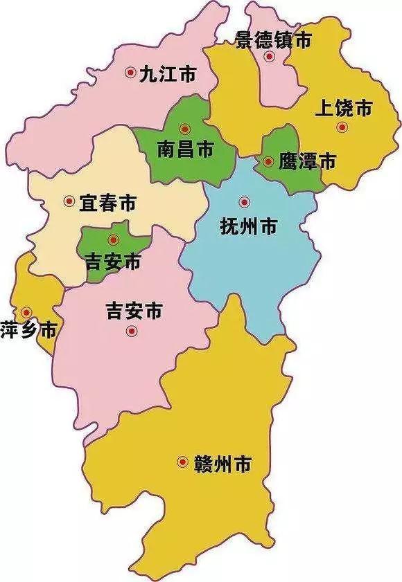 赣州市地图实景高清版