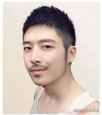男士发型短发帅气圆寸发型2018图片