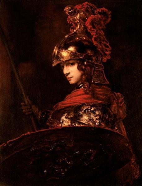 扒下智慧女神的外衣,认识油画女神雅典娜的真相,真的好污!