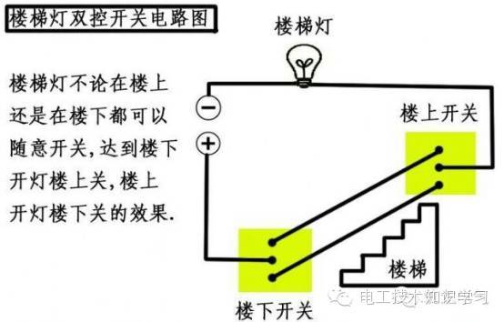 【实用电工知识】各类开关接线图与实物图对照解析