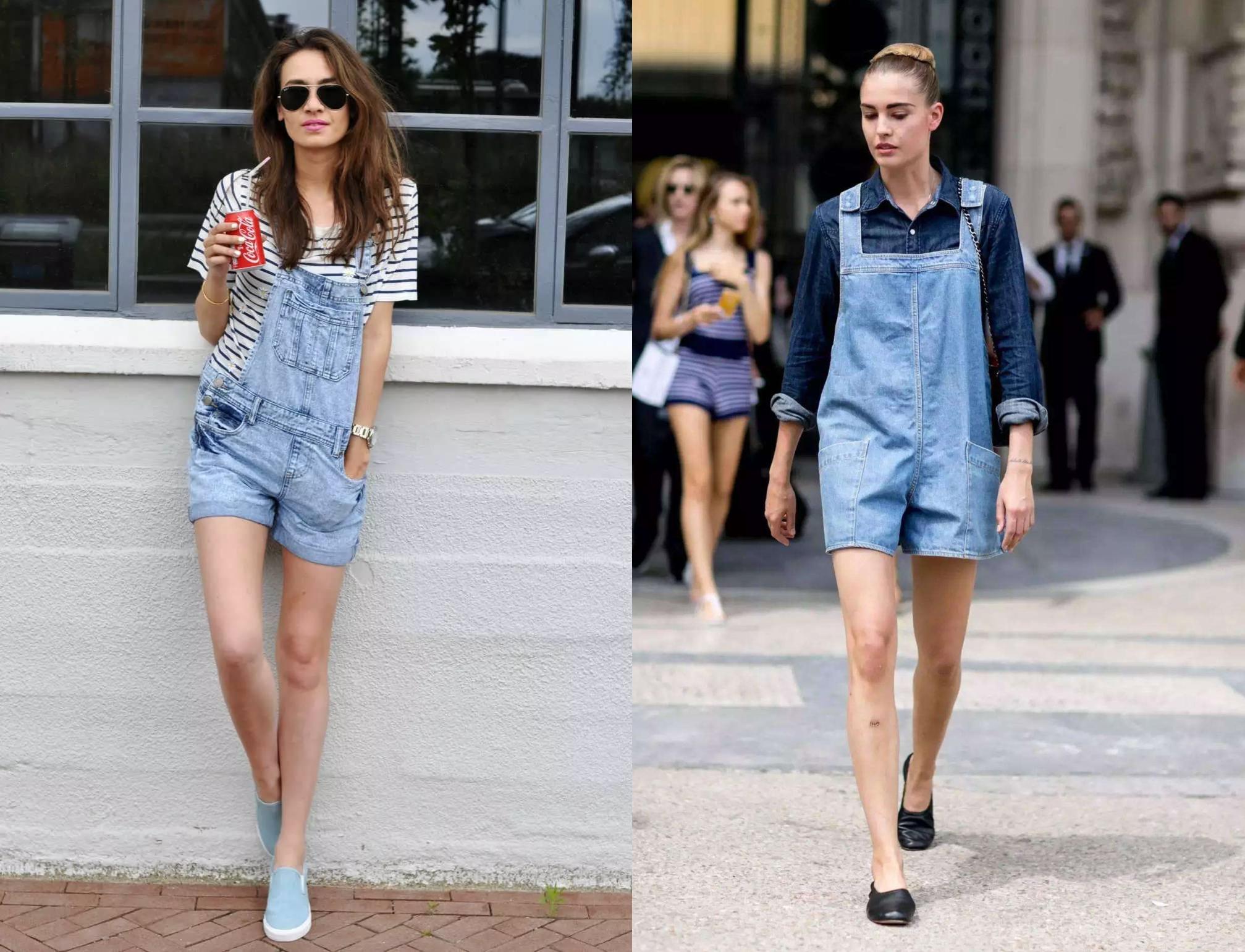 get时髦icon的短裤穿搭,让你爱上露大腿!