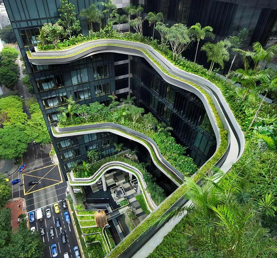 酒店由享誉全球的新加坡知名设计所whoa所操刀设计,以城市花园为设计图片