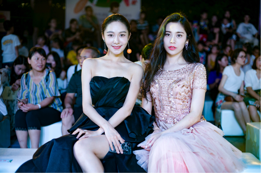 演员胡睿受邀出席N+Style百花齐放文化时尚周,一