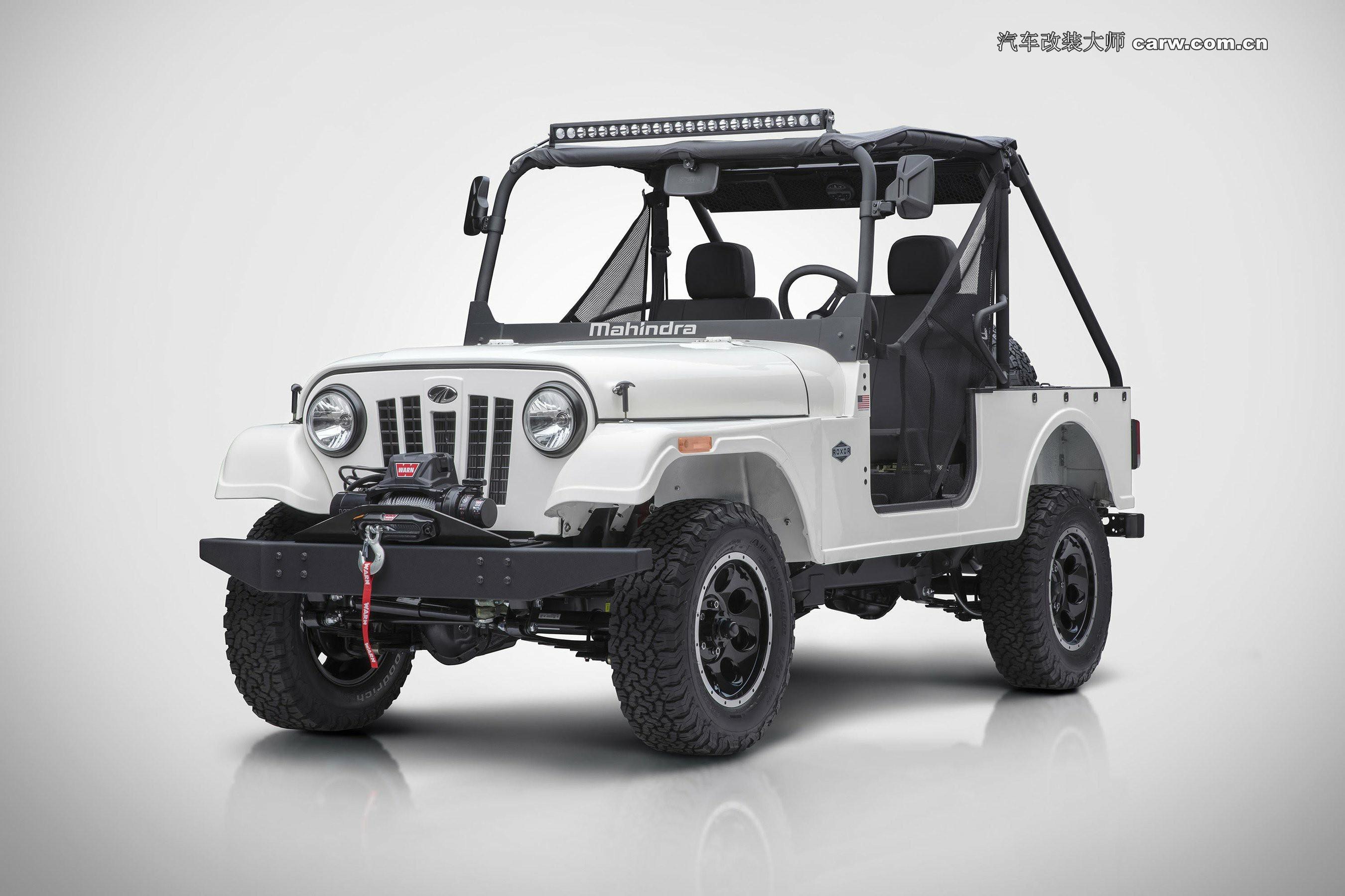 FCA阻止Mahindra在美国出售其Jeep-Clone Roxor