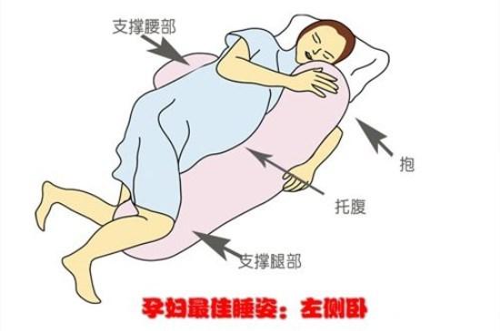 怀孕前期哪种睡觉姿势好