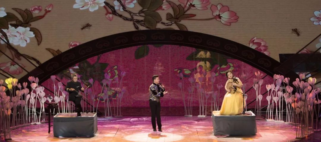 国乐大典——胡文阁、刘铁山、雷群安联合表演的《梨花颂》