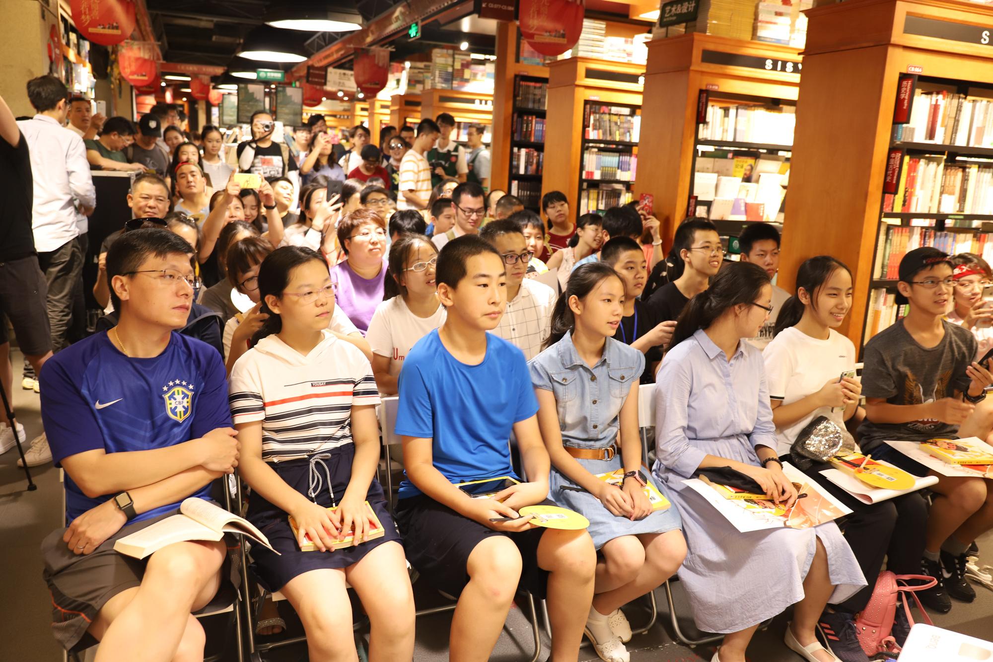 暑期爆款图书《朕说历史·汉代篇》北京签售