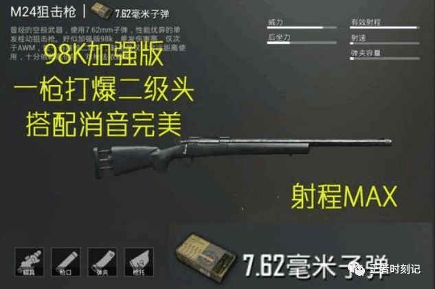 刺激战场: 玩了2000场的大神告诉你, 这把狙击枪比awm