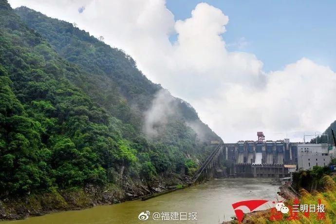 三明又一水电站实现投产发电,这个景区将越来越美!