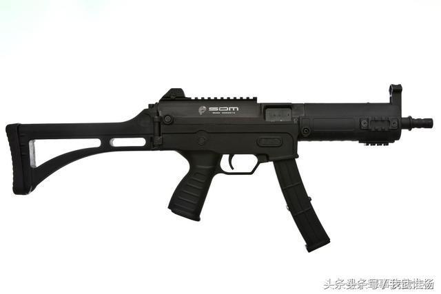 微型冲锋_sdm smg9半自动微型冲锋枪的背面照片