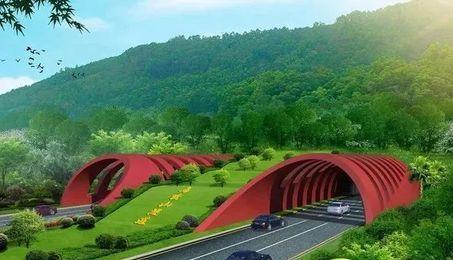该隧道将下穿马峦山郊野公园,三洲田森林公园及东部华侨城景区,建成图片