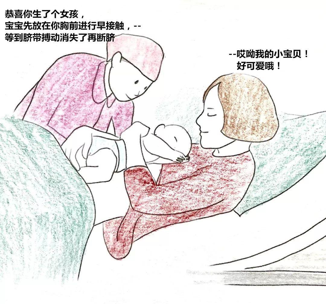 根据需求,对孕妇实施自由体位(半坐卧位)分娩.图片