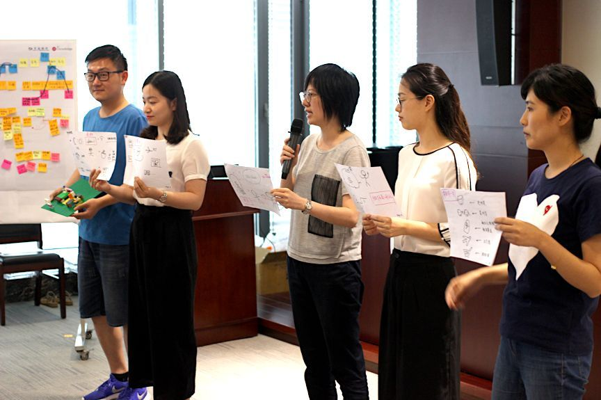 智慧金融 服务设计 l 2018年产品创新工作坊活动在江苏举办图片