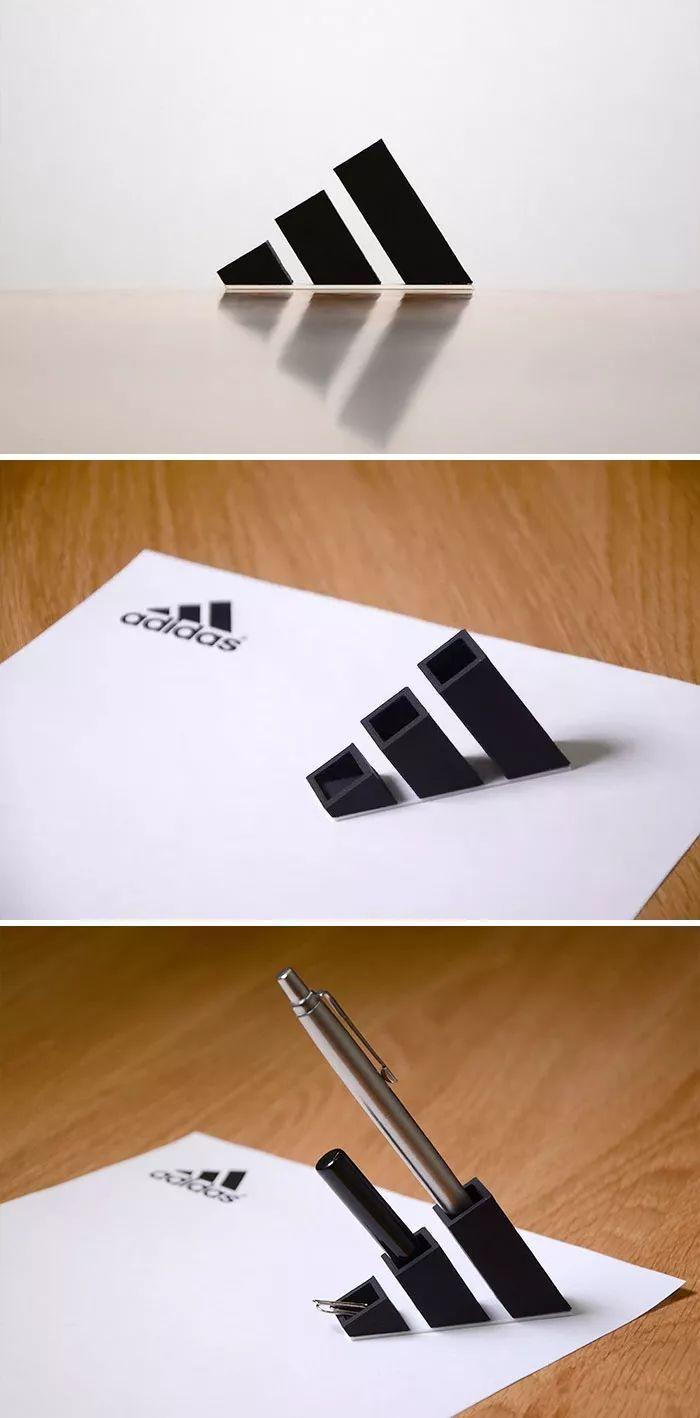 这个喜欢二次设计大牌logo的日本设计师,创意可以说是赞爆了-小超博客
