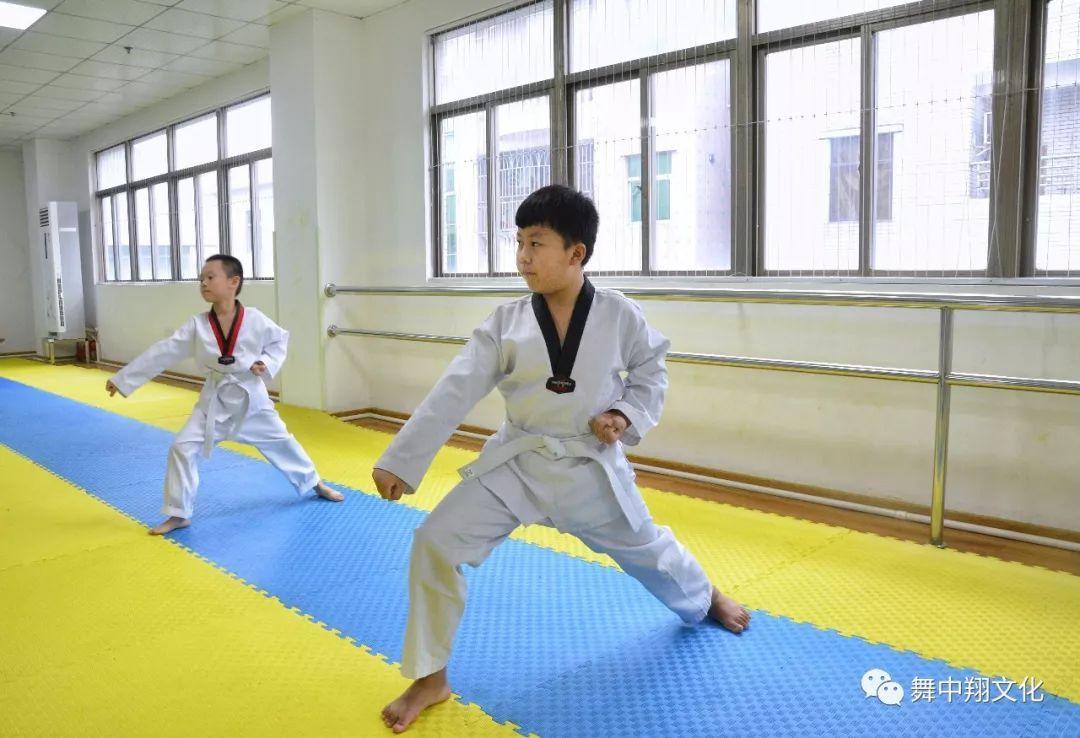 跆拳道考试过程