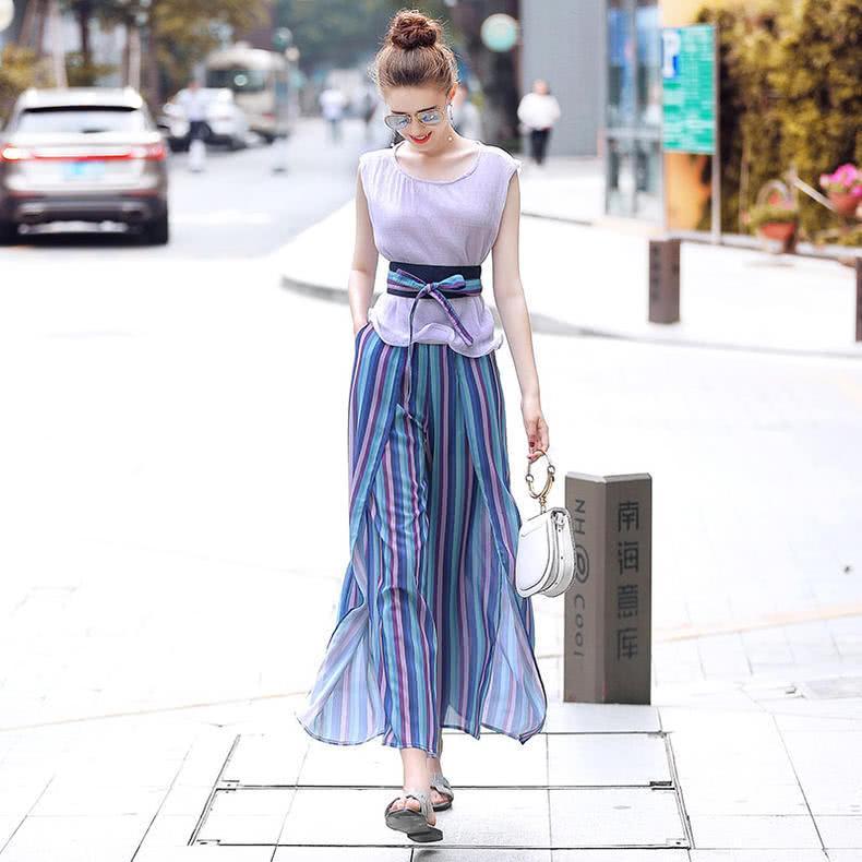六款时髦阔腿套装,懒人夏日搭配必备,懒仙女也能化身时尚潮人