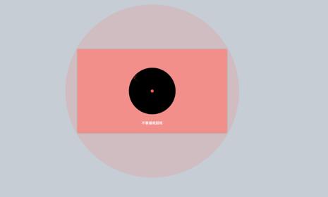 Keynote动画:小圆撞大圆